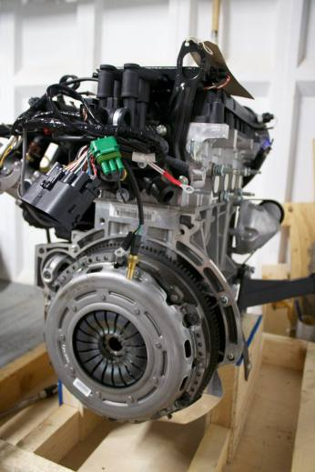 Engine for the Caterham Academy car