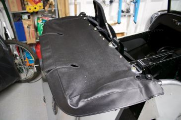 Caterham Academy 2017 Boot Cover