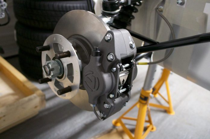 Caterham Academy front suspension