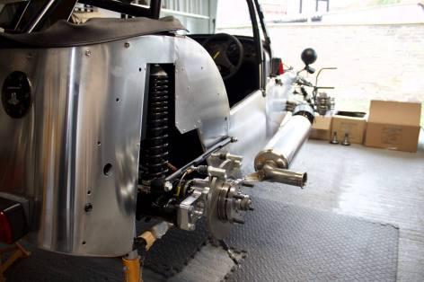 Caterham Academy 2017 Exhaust