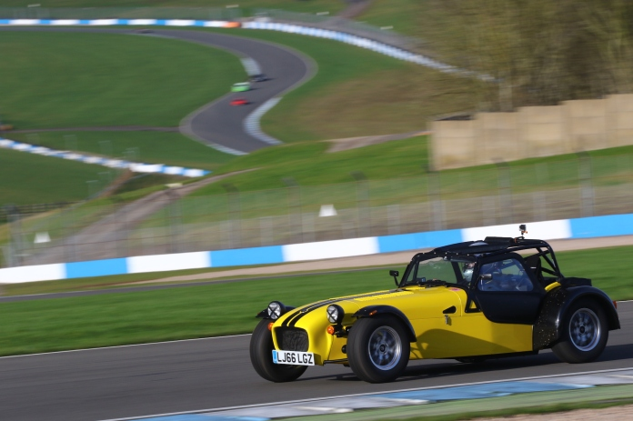Caterham Academy Donington track day