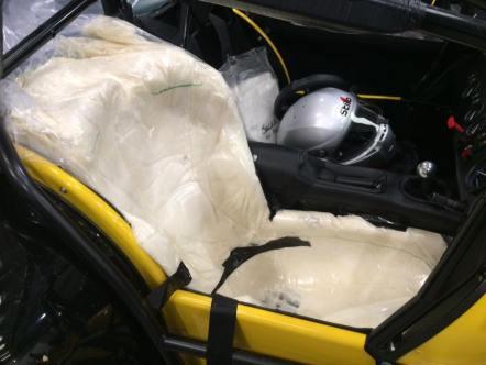 Caterham Academy foam seat