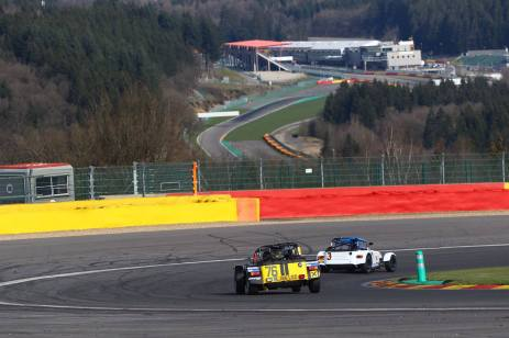Caterham Academy at Spa track day