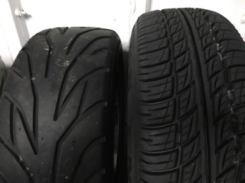 Difference in tread between Avon ZZS and CR322