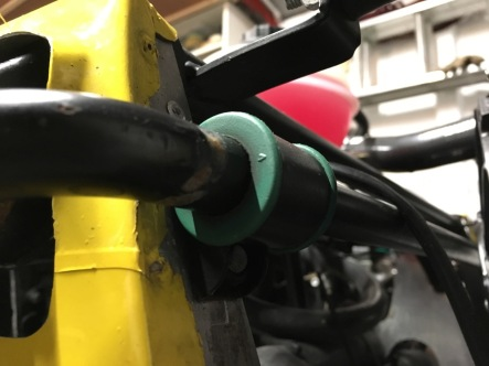 Roadsport upgrade to green anti roll bar.