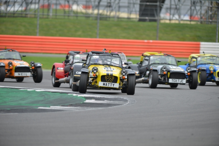 Caterham Academy 2017 - Leading at Silverstone