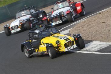 Caterham Roadsport Knockhill Race 1a