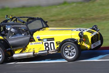Caterham Roadsport Knockhill Race 1b