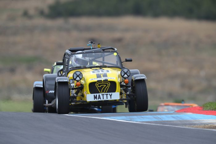 Caterham Roadsport Knockhill test 1a