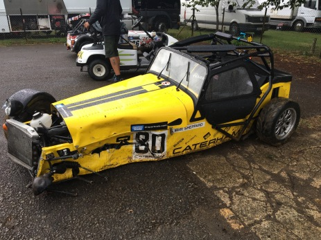 Caterham Roadsport 2018 Castle Combe Crash