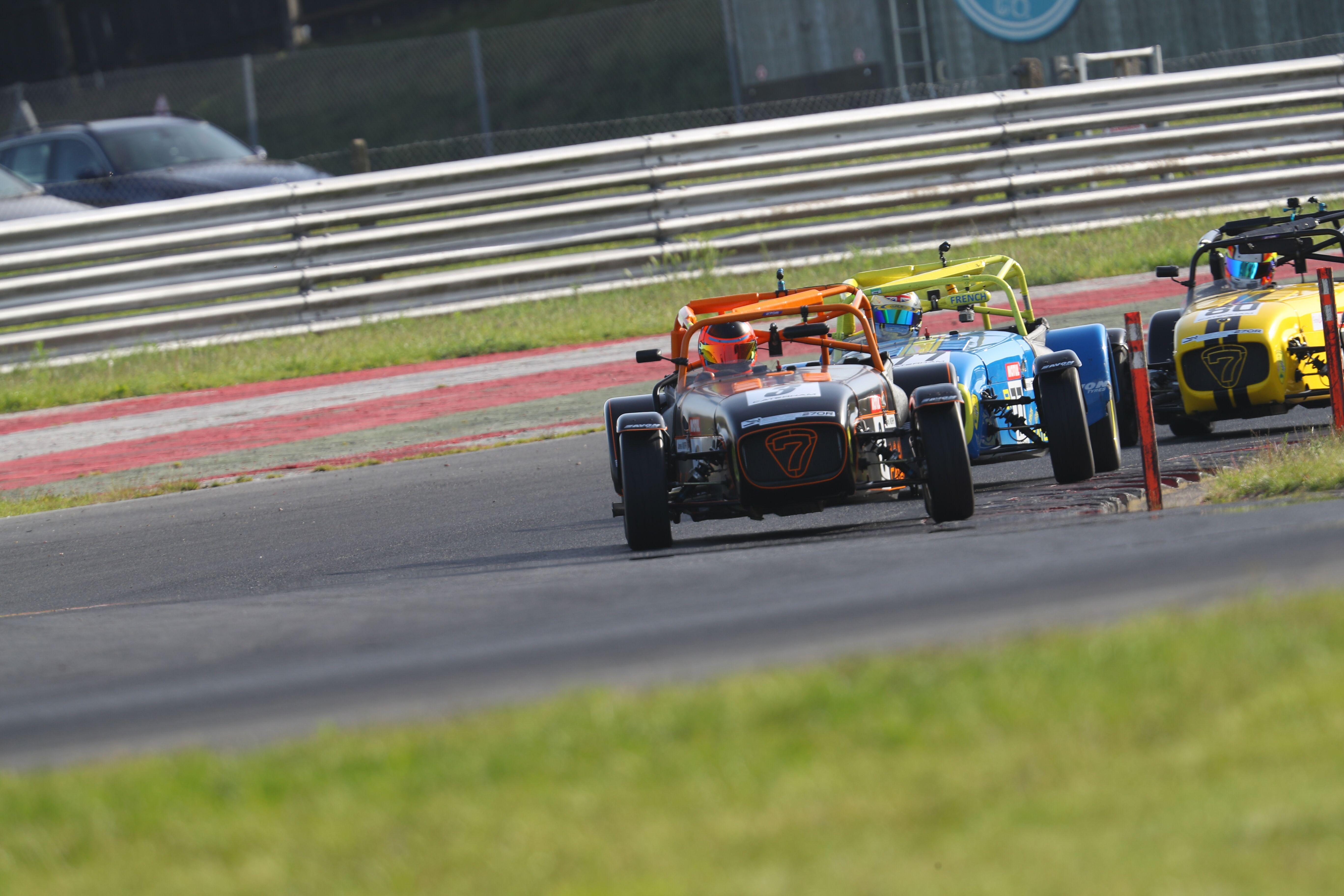 Snetterton Caterham 270R Race 1 trio